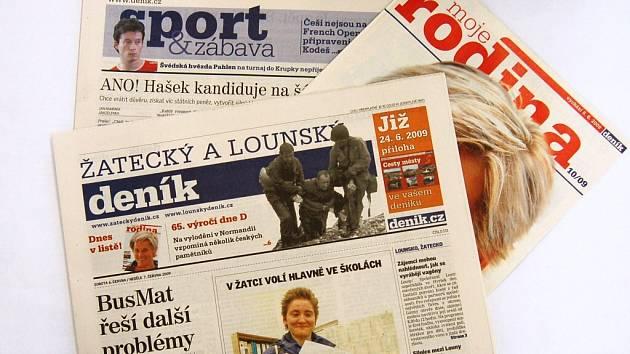 Žatecký a lounský deník. Ilustrační foto