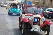5. sraz auto a moto veteránů v Cítolibech