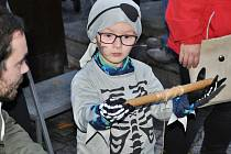Halloweenské setkání v Lounech