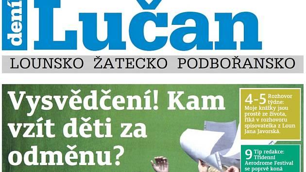 Týdeník Lučan z 26. června 2018