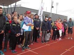 Účasníci závodů Stimax Cup v Chomutově