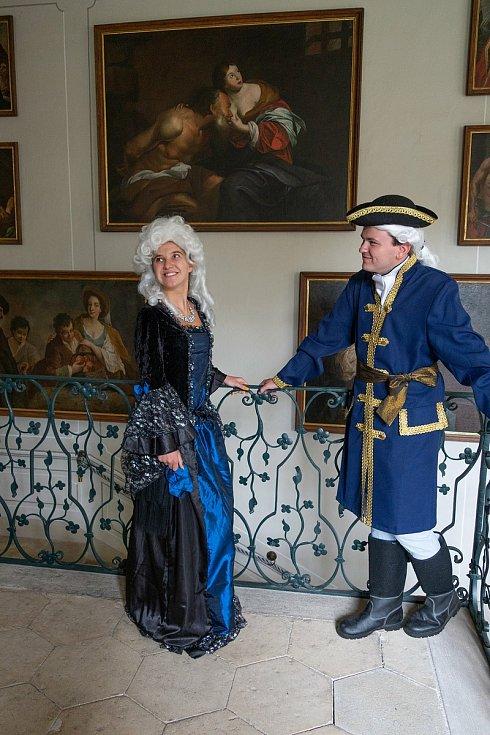 Na zámku ve Stekníku už trénují v kostýmech na Hradozámeckou noc
