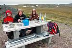 Je čas na teplou polévku na Nordkappu