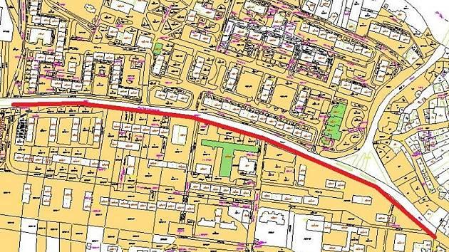 Město Louny chystá rekonstrukci chodníků v ulici SNP. Jejich povrch se má obnovit po levé straně ulice ve směru od ulice Maroldova po ulici Přemyslovců.
