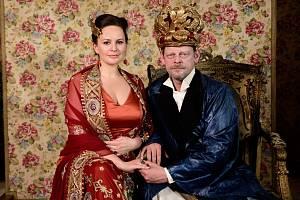 Hlavní roli v pohádce Slíbená princezna si zahráli Jitka Čvančarová a Martin Stránský.