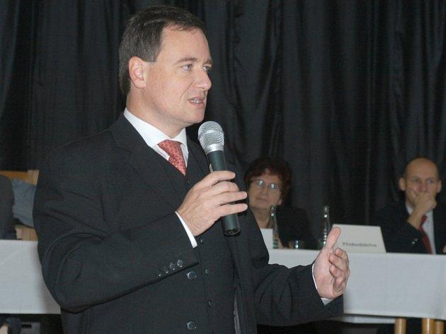 Někdejší ministr David Rath přijel pozdravit své stranické kolegy.