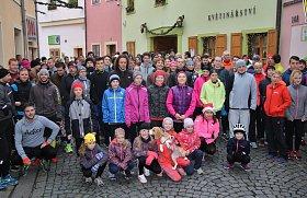 Veřejný štědrodenní běh v Lounech