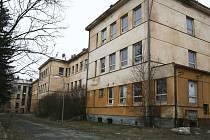 Nevyužívané budovy v Zahradním městě