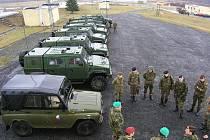 Belgičtí vojáci ze 7. mechanizované brigády překonali vzdálenost 780 kilometrů z posádkového města Marce-en-Famenne, kde sídlí jejích velitelství, do Vojenského újezdu Hradiště šestnácti vozidly, a to včetně lehkých kolových vozidel IVECO.