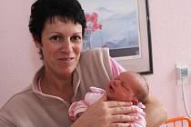 Holčička Anna Voráčová ze Žatce se narodila 7. listopadu v 8.38 hodin v Kadani. Měřila 49 cm a vážila 3,2 kilogramu. Mamince Šárce gratulujeme.