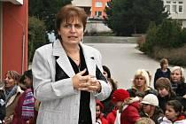 Věra Benešová na archivním snímku