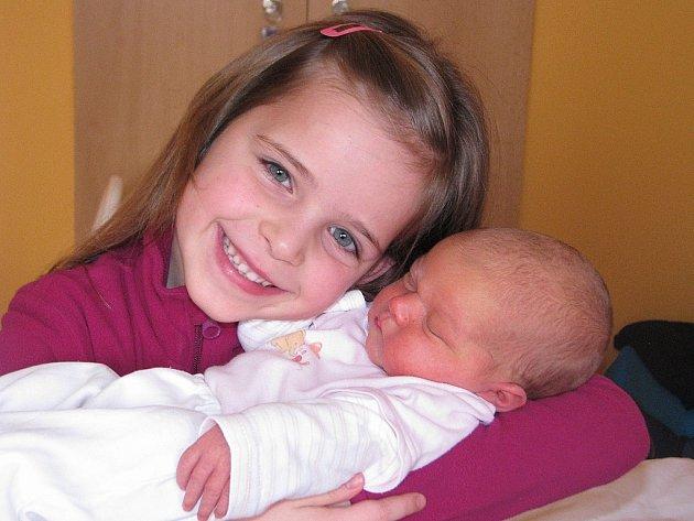 Mamince Janě Somolové ze Žatce se 14. ledna 2013 v 7.04 hodin narodila dcerka Klaudie Králová. Vážila 3640 gramů a měřila 52 centimetrů. Na snímku ji na svět vítá sestřička Diana.