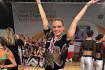 Adéla Citová má z MS dvě stříbrné medaile