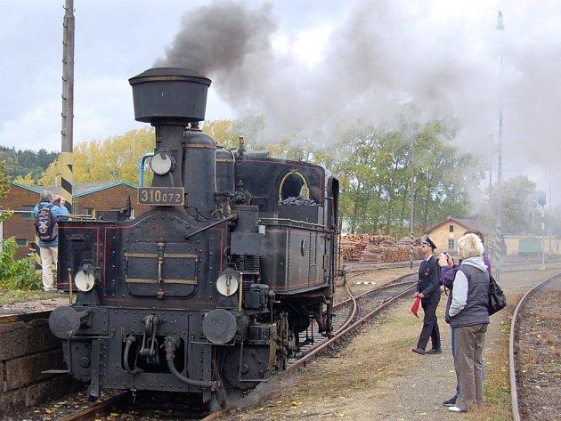 Den železnice v Blatně