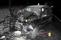 Tragická nehoda u Hořence na Lounsku