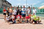 První tenisový Family cup vyhráli Hänelovi a Voráčovi
