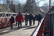 Novoroční pochod na Žatecku