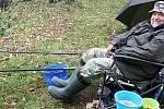 Rybářské závody v Blšanech u Loun.