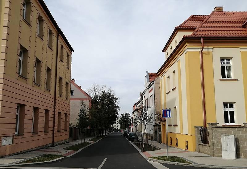 Rekonstrukce ulice Politických vězňů v Žatci.