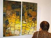 Dřevomalby z dílny slánského výtvarníka Tomáše Záborce