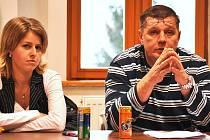 Blanka Vrbová a Karel Vrba