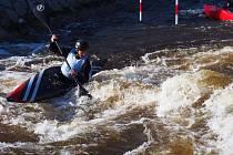 MARTIN SVOBODA, starší žák žateckého klubu vodního slalomu.