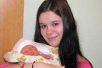 Mamince Martině Kotasové z Loun se 16. prosince 2013 ve 2.25 hodin narodil synek David Korvas. Vážil 2660 gramů a měřil rovných 50 centimetrů.