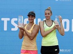 Na olomouckém turnaji ITS CUP se hrálo finále dvouhry. Bernarda Peraová (vlevo) a Kristýna Plíšková