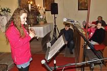 Koncert v kostele sv. Bartoloměje v Holedečku