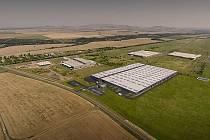 Zóna Triangle zažívá v poslední době rozkvět. Investoři už ji téměř celou obsadili, plánuje se proto další výstavba infrastruktury. Na snímku vizualizace továrny Kiswire, která se právě staví na západním okraji zóny.