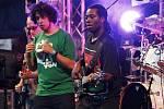 Vystoupení formace Ucee & Flavour Band