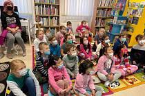 Pasování na čtenáře v Městské knihovně Žatec.