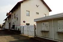 Opuštěné budovy žateckých jatek