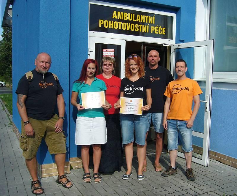 Spolek Dobroděj podpořil v roce 2019 dětskou pohotovost v Lounech a také terapie pro děti s poruchou autistického spektra