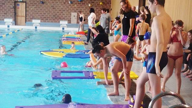 Plavání s Bublinou v Postoloprtech