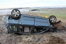 Lednová dopravní nehoda.