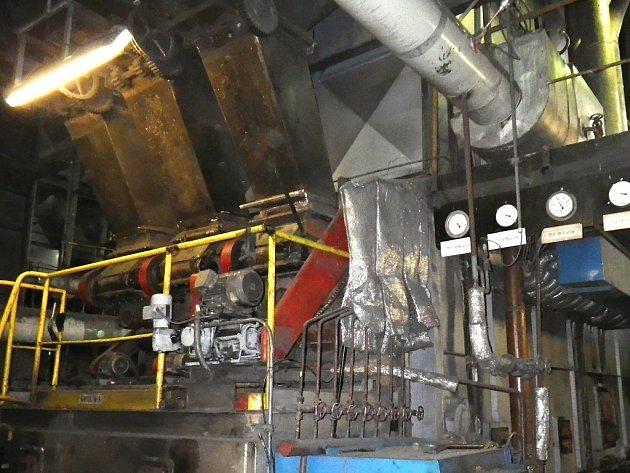 Uhelné kotle ve výtopně v Perči projdou rekonstrukcí.