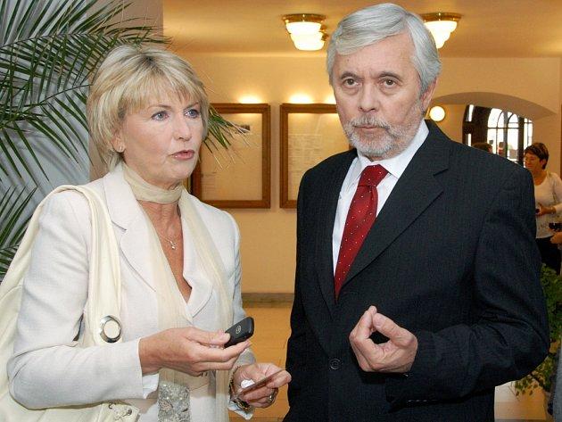 Josef Abrhám a Eliška Balzerová
