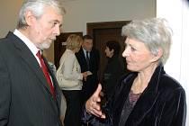 Josef Abrhám a Jana Štěpánková