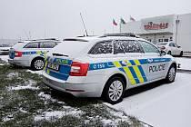 V zóně Triangle u Žatce začali sloužit policisté z dálničního oddělení.