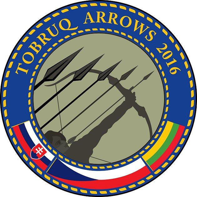 Znak mezinárodního cvičení Tobruq Arrows 2016