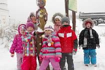 Žatecké děti na Ježíškově cestě v roce 2013.