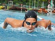 Žatecký plavec Tomáš Plevko