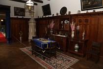 Na zámku Stekník na Žatecku bylo zrekonstruováno západní křídlo památky.