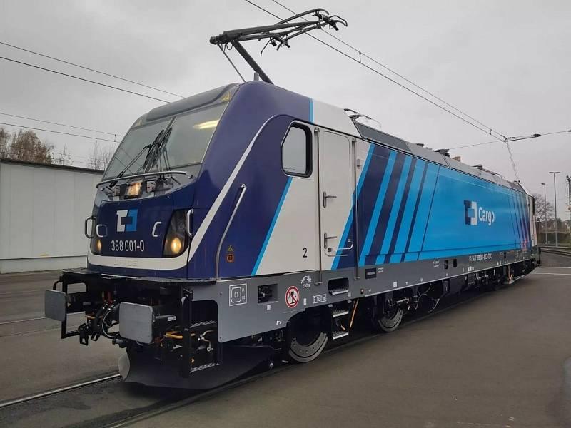 Lokomotiva TRAXX MS3.