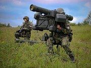 Čeští vojáci se do cvičení Tobruq Legacy 2017 zapojili mimo jiné sprotiletadlovými raketovými komplety RBS-70