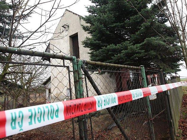 Domek v Blažimi, jehož majitelku utloukli dva nedospělí chlapci k smrti