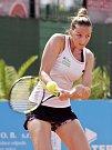 Kristýna Plíšková na letošním turnaji v Olomouci