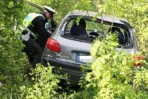 Dopravní nehoda mladé řidičky u Postoloprt