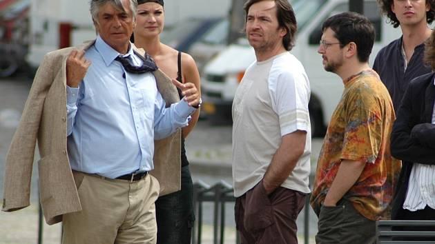 Natáčení třetí řady legendárního seriálu Nemocnice na kraji města v Žatci.